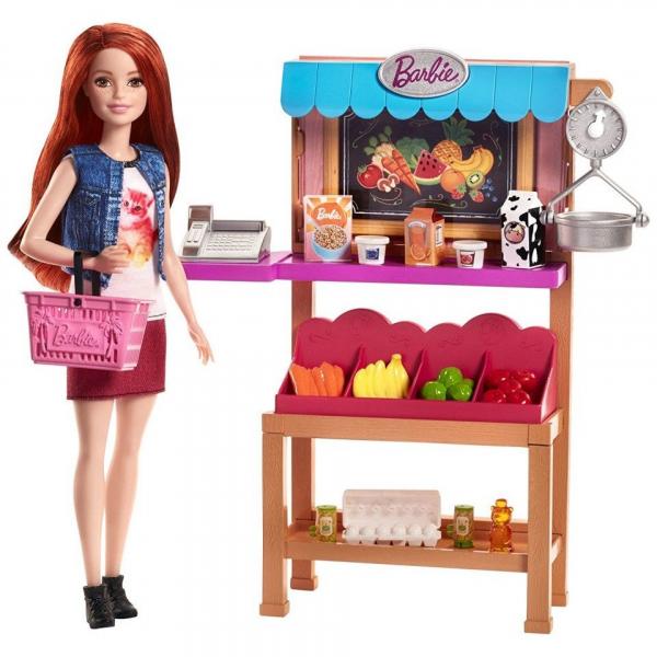 Set de joaca Standul cu alimente Barbie [4]