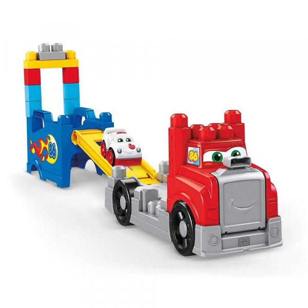 Set constructie Mega Bloks Camion Transportor 15 piese 0