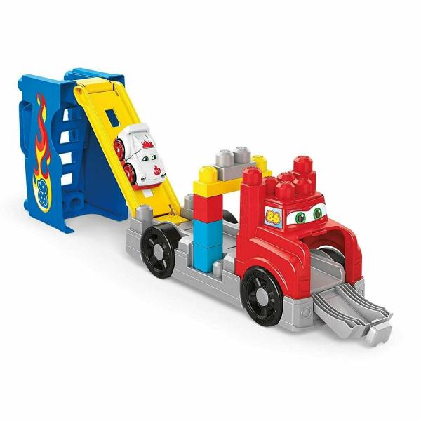 Set constructie Mega Bloks Camion Transportor 15 piese 1