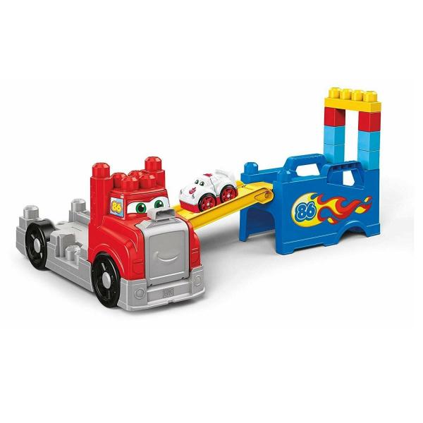 Set constructie Mega Bloks Camion Transportor 15 piese 2