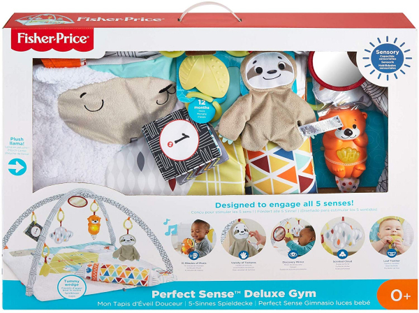 Centru activitati Fisher Price Perfect Sense Deluxe Gym 6