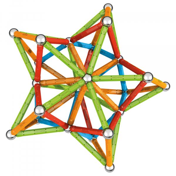 Set de constructie magnetic Geomag, Confetti, 127 piese 1