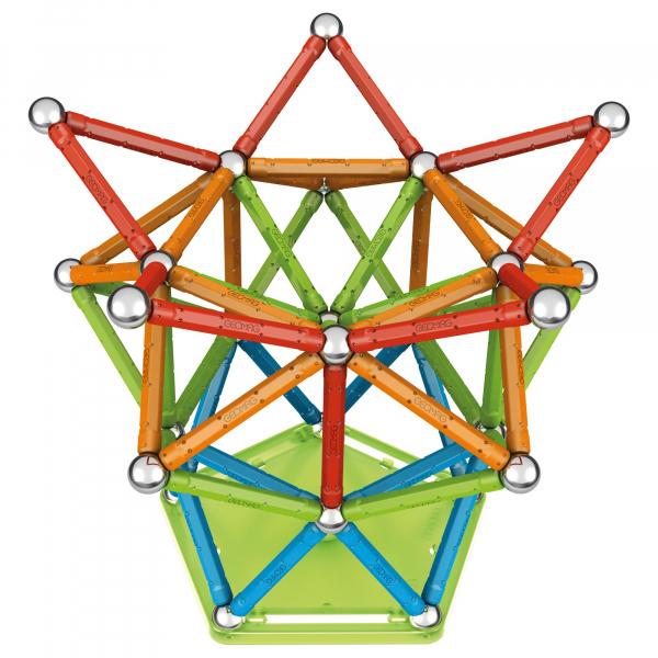 Set de constructie magnetic Geomag, Confetti, 127 piese 2