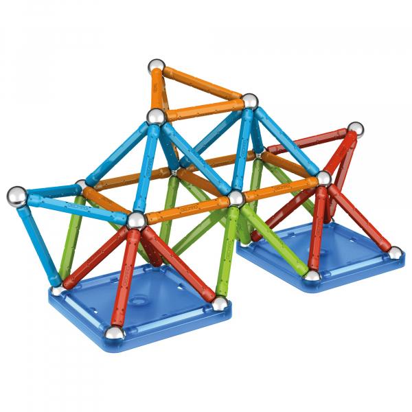 Set de constructie magnetic Geomag, Confetti, 127 piese 5