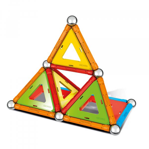 Set de constructie magnetic Geomag, Confetti, 88 piese 2