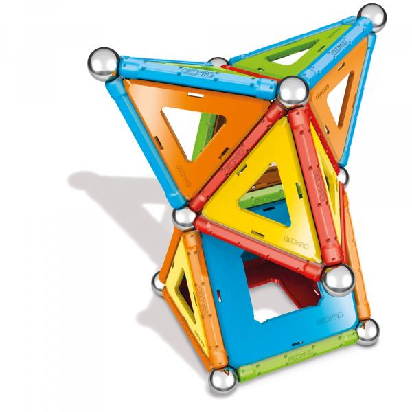 Set de constructie magnetic Geomag Confetti 68 piese 4