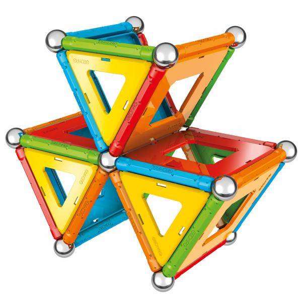 Set de constructie magnetic Geomag, Confetti, 88 piese 4