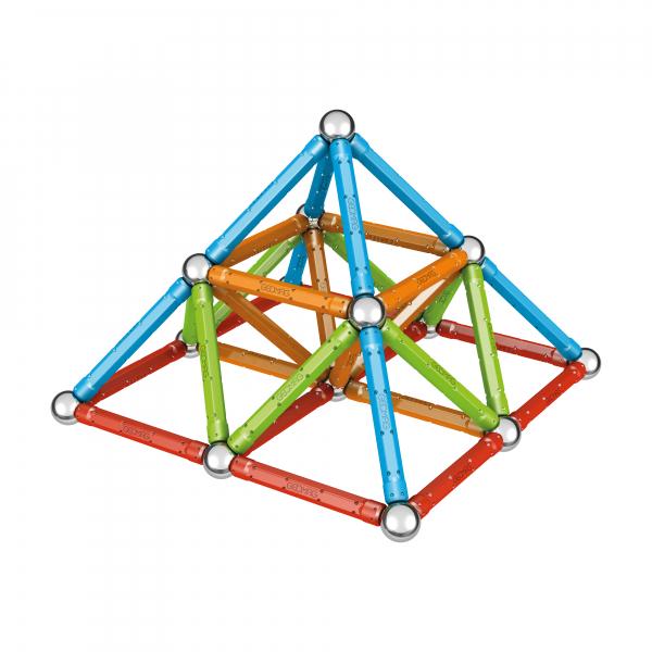 Set de constructie magnetic Geomag, Confetti, 88 piese 5