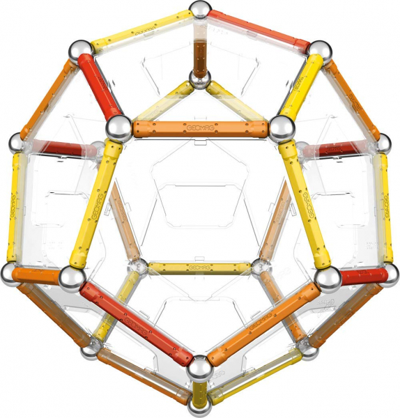 Set de constructie magnetic Geomag Editie Speciala Leonardo da Vinci 67 piese [3]