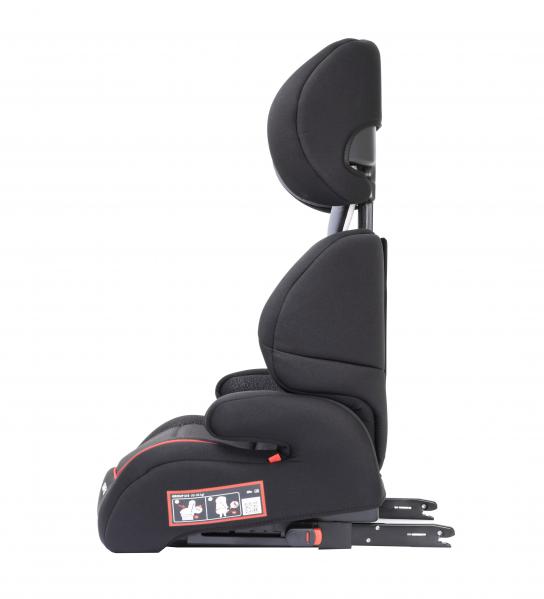 Scaun auto Babyauto Jan FIX PLUS, Isofix, 15-36 Kg, Negru/Gri 9