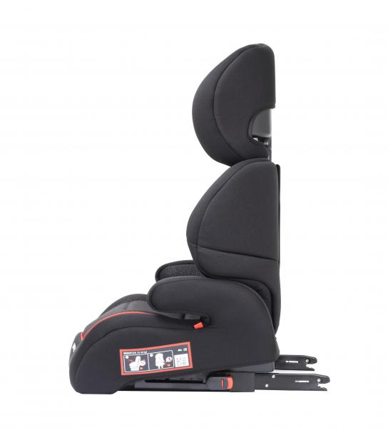 Scaun auto Babyauto Jan FIX PLUS, Isofix, 15-36 Kg, Negru/Gri 8