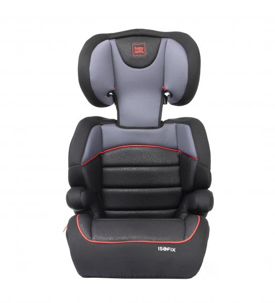 Scaun auto Babyauto Jan FIX PLUS, Isofix, 15-36 Kg, Negru/Gri 5