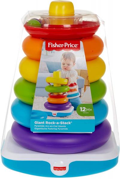 Jucarie bebelusi Fisher Price, Piramida Uriasa Rock A Stack 2