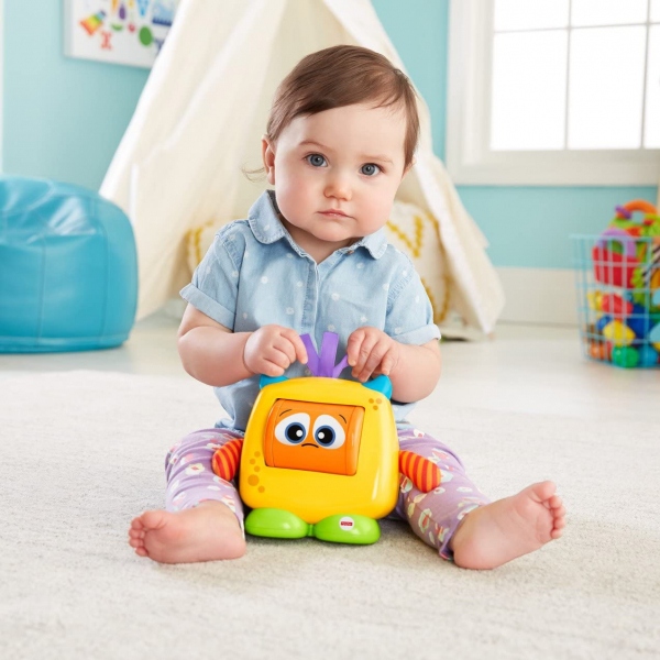Jucarie interactiva Fisher-Price Monstrulet Sentimental 7