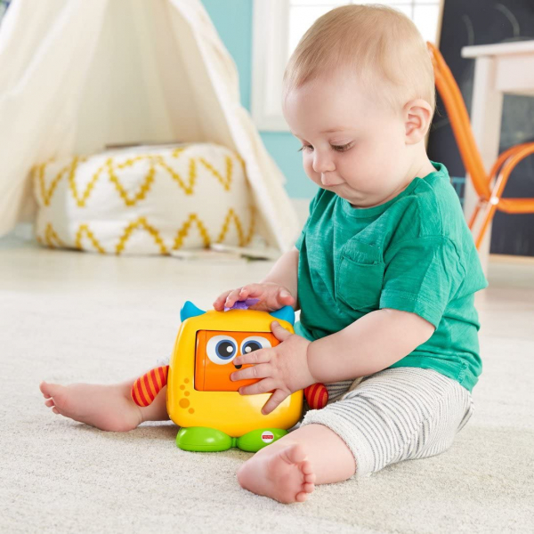 Jucarie interactiva Fisher-Price Monstrulet Sentimental 6