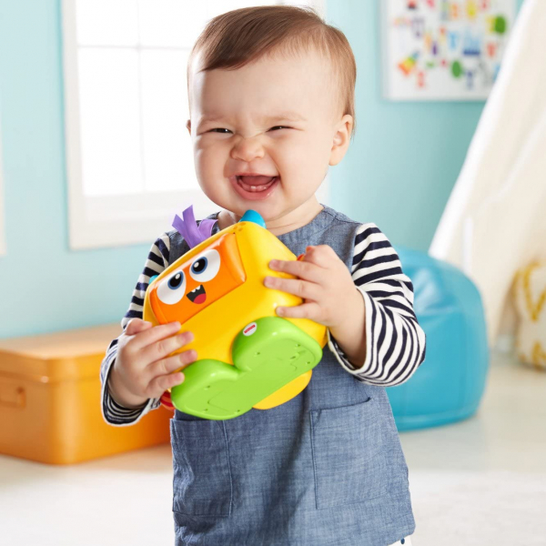 Jucarie interactiva Fisher-Price Monstrulet Sentimental 4