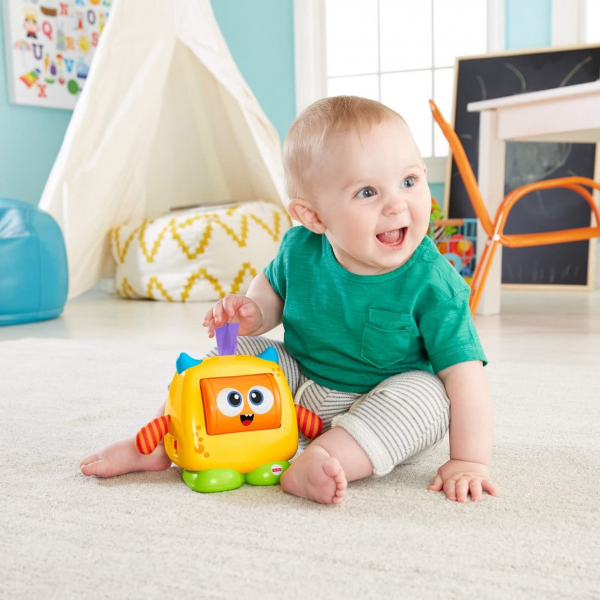 Jucarie interactiva Fisher-Price Monstrulet Sentimental 5