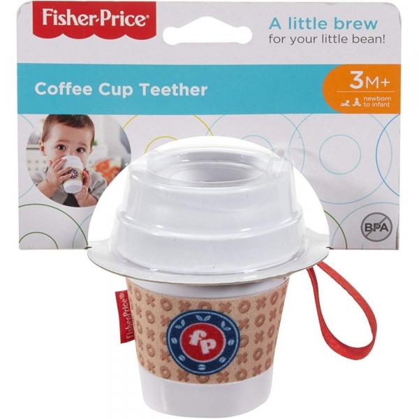 Jucarie pentru dentitie Fisher-Price Cana de cafea 1
