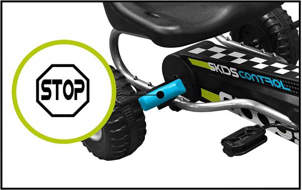 Cart Stamp Skids Control cu pedale, volan si frana de mana 1