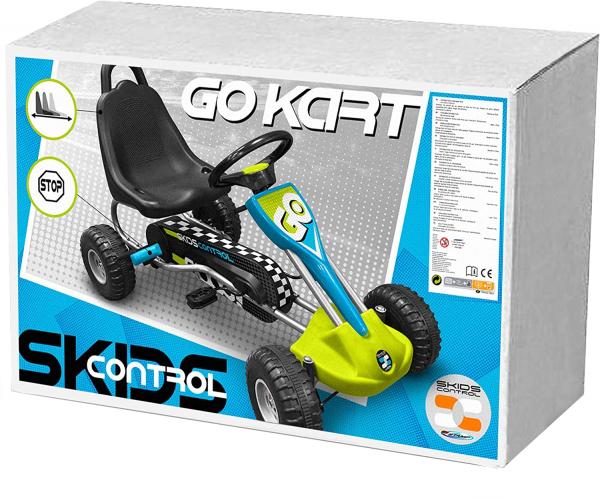 Cart Stamp Skids Control cu pedale, volan si frana de mana 2