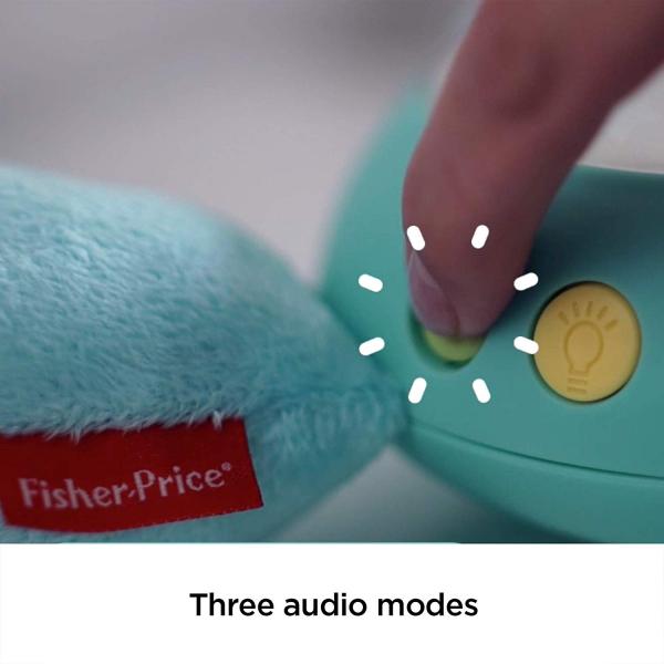 Lampa de veghe Fisher Price, Hippo de plus cu proiector si muzica 5