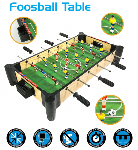 Masa de fotbal pentru copii Ambassador, 68.5 cm 2