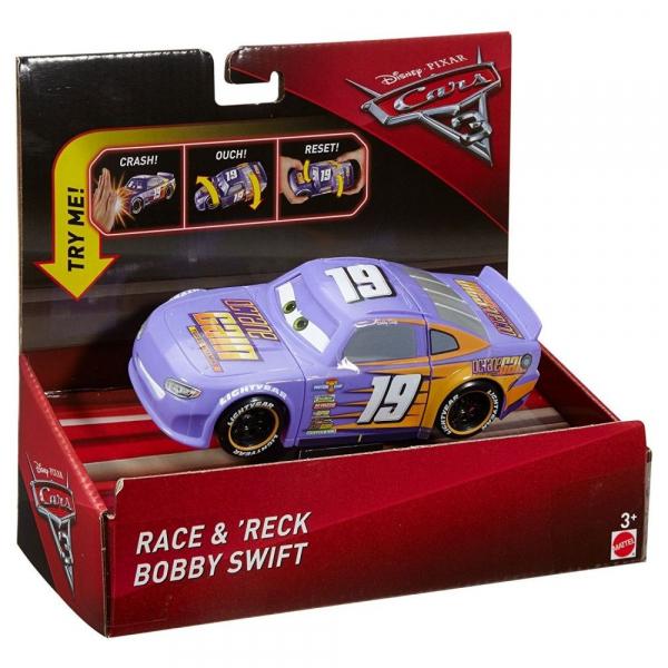 Masinuta Mattel Disney Cars3 Super Crash Bobby Swift 0