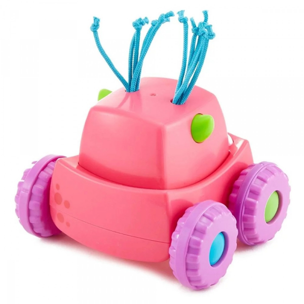 Masinuta Fisher Price Monster, roz 2