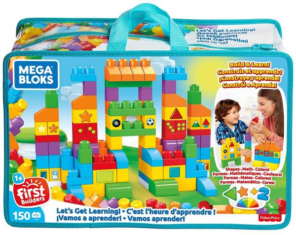 Set Fisher-Price Cuburi Colorate de Construit Mega Bloks 150 de piese [0]