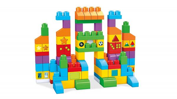 Set Fisher-Price Cuburi Colorate de Construit Mega Bloks 150 de piese [2]