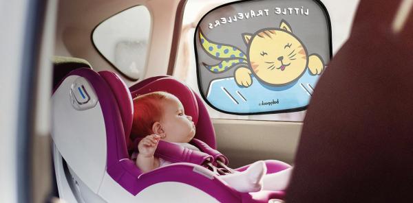 Parasolar auto Babyauto Fantasia, auto-aderent, set 2 buc. 1