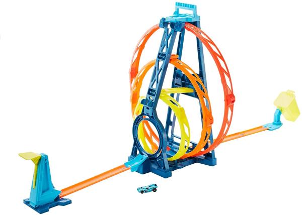 Set de joaca Hot Wheels Triple loop kit 0