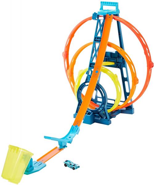 Set de joaca Hot Wheels Triple loop kit 2