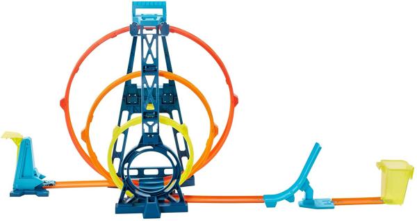 Set de joaca Hot Wheels Triple loop kit 3