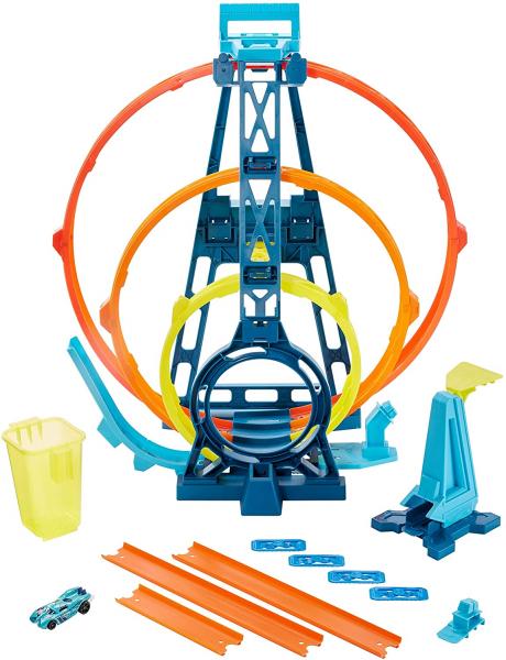 Set de joaca Hot Wheels Triple loop kit 4