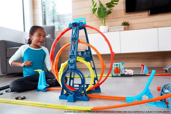 Set de joaca Hot Wheels Triple loop kit 5