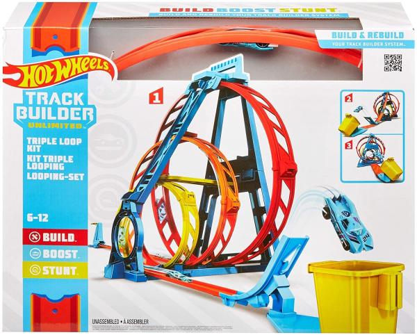 Set de joaca Hot Wheels Triple loop kit 7