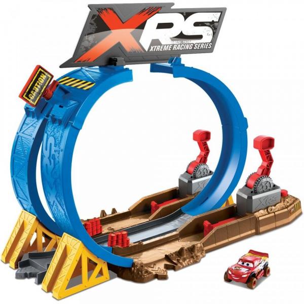 Set de joaca Crash Challenge XRS Mud Racing Cars 3 1