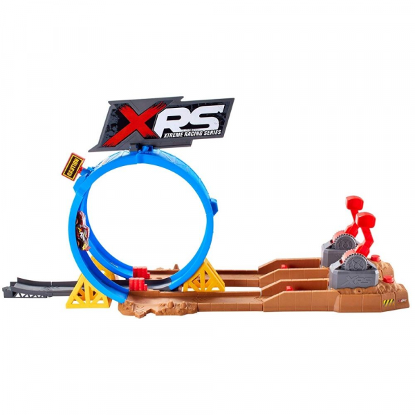 Set de joaca Crash Challenge XRS Mud Racing Cars 3 2