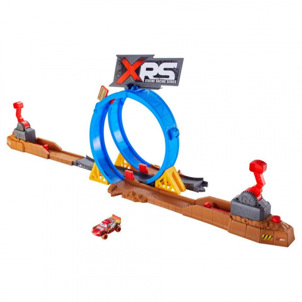 Set de joaca Crash Challenge XRS Mud Racing Cars 3 4