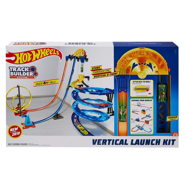 Set de joaca Hot Wheels, Vertical Launch Kit 1