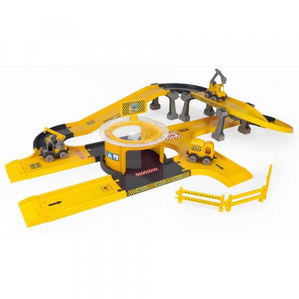 Circuit Constructii autostrazi cu masini Kid Cars 3D 3,7 m 9