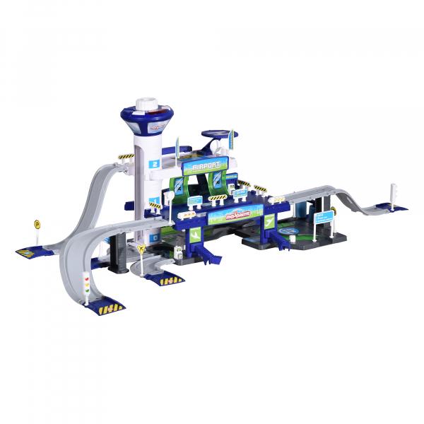 Set de joaca Majorette Creatix Aeroport, 5 vehicule incluse 5