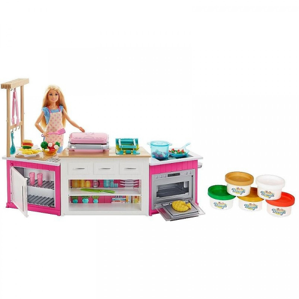 Set de joaca Mattel Barbie Bucatarie utilata 2