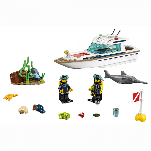 LEGO® City Great Vehicles - Iaht pentru scufundari 60221 2