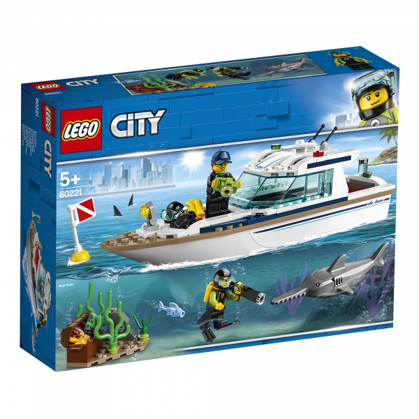 LEGO® City Great Vehicles - Iaht pentru scufundari 60221 0