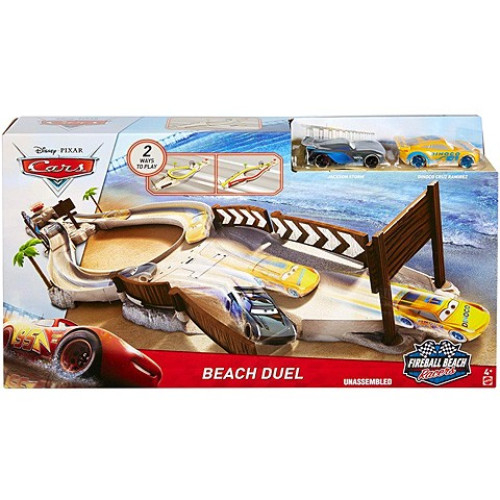 Pista circuit Beach Duel Fireball Beach Racers Cars 3 0