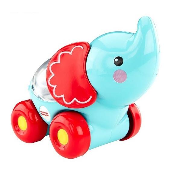 Vehicul Poppity elefant Fisher-Price 0