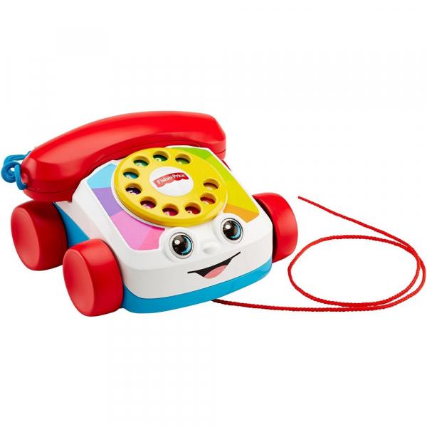 Jucarie interactiva Fisher-Price Telefon plimbaret cu sunete 0