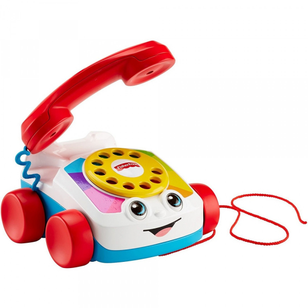 Jucarie interactiva Fisher-Price Telefon plimbaret cu sunete 1